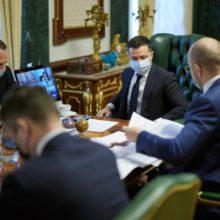 Україна активно готується до початку вакцинації – нарада у Президента