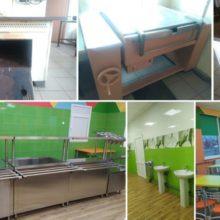 Для шкільних їдалень області придбали обладнання на понад 13 млн. грн.