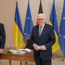 Україна очікує на прискорення інтеграції з ЄС у рамках ініціативи Східне партнерство — Денис Шмигаль під час зустрічі з Президентом Німеччини