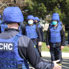 Рятувальники Черкащини відбули в зону ООС