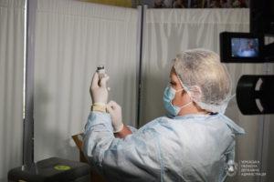 За останню добу на Черкащині від коронавірусу вакцинували 658 людей