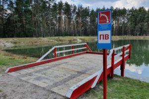 У Руськополянському лісництві облаштували місця для забору води на випадок пожеж