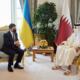 Зеленський запропонував Катару інвестувати у «Велике будівництво» в Україні