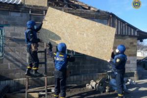 Рятувальники Черкаського зведеного загону відновили 6 житлових будинків
