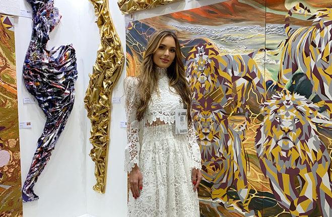 Вже вдруге: черкащанка представила Україну на світовому арт-форумі в Дубаї