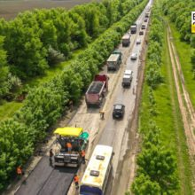 На Уманщині відновлюють 10-кілометрову ділянку дороги Н-16