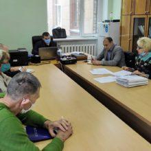 Засідання комісії  щодо призначення  грошової компенсації на житло особі з інвалідністю внаслідок війни II групи, із числа учасників АТО