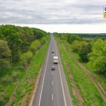 Торік на Звенигородщині відремонтувал 8 кілометрів дороги Н-16 у Легедзиному (фото, відео)