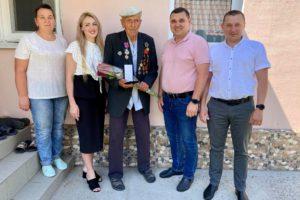 Жителям Черкаського району – учасникам бойових дій вручені пам'ятні медалі