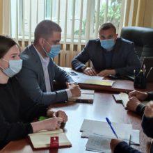 Відбулася нарада  під головуванням першого заступника голови РДА Романа Хоменка