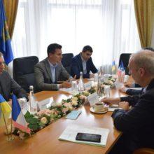Олександр Скічко зустрівся із Надзвичайним і Повноважним Послом Франції в Україні