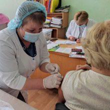 Держслужбовці Черкаської РДА долучилися  до кампанії вакцинації від СOVID-19