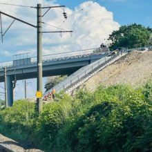 Завершується реконструкція шляхопроводу на ділянці км 164+068 у місті Городище