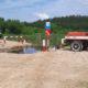 Чигиринські лісівники облаштували протипожежну водойму для забору води
