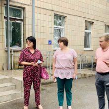 У Черкаському районі Лариса Кошова та Богдан Солошенко перевірили роботу центрів вакцинації та пунктів щеплень