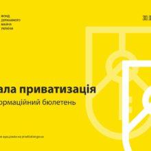 Мала приватизація: інформаційний бюлетень від 30.06.2021