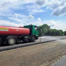 """""""Велике будівництво"""": триває ремонт ділянки автодороги Н-16 перед заїздом в Черкаси зі сторони Сміли"""