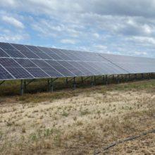 На Чигиринщині почала працювати сонячна електростанція
