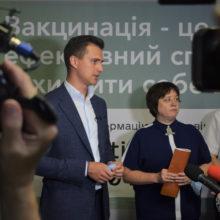 «Щеплення для ВСІХ!» – Олександр Скічко про 5-ий етап вакцинації та нові центри