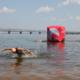 Наймасовіший заплив: 650 учасників перепливали Дніпро в Черкасах