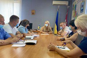 Голова Черкаської РДА провела нараду з керівниками галузей