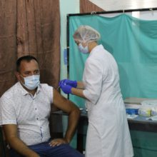 Смілянський міський голова вакцинувався проти COVID-19