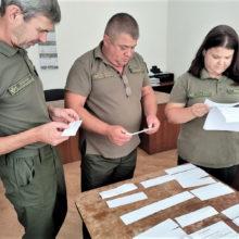 У Корсунь-Шевченківському лісгоспі провели атестацію працівників державної лісової охорони