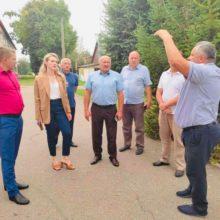 Голова Черкаської РДА з робочим візитом відвідала Кам'янську міську територіальну громаду