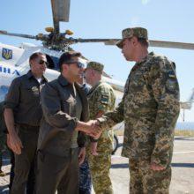 Глава держави відвідав острів Зміїний і перевірив готовність військових до його оборони