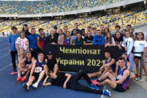 Черкасці – призери чемпіонату України з естафетного бігу
