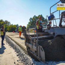 Товщина дорожнього одягу буде майже метр: триває ремонт автодороги Канів – Софіївка