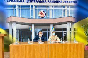 У трьох лікарнях Черкаського району збудують кисневі станції