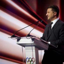 «Наша держава заслуговує стати господаркою Олімпійських ігор», – Володимир Зеленський