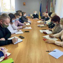 Голова райдержадміністрації провела нараду щодо актуальних питань життєдіяльності району